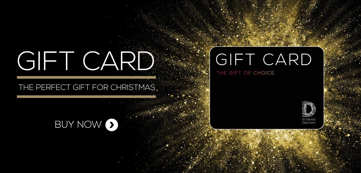 St David's Cardiff gift card