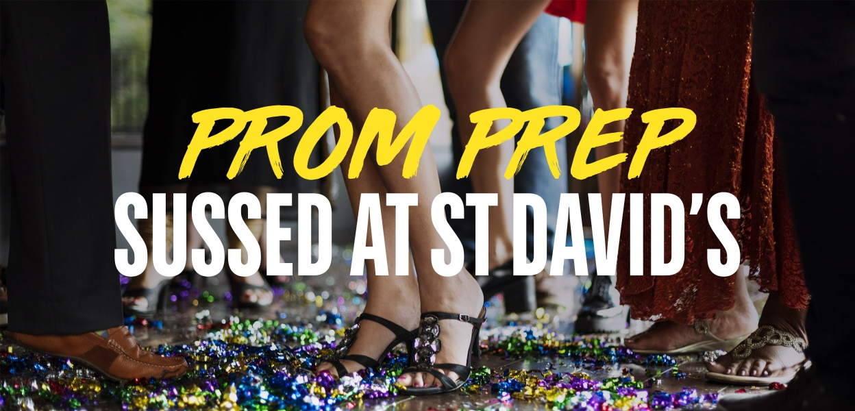 Prom dresses at St David's