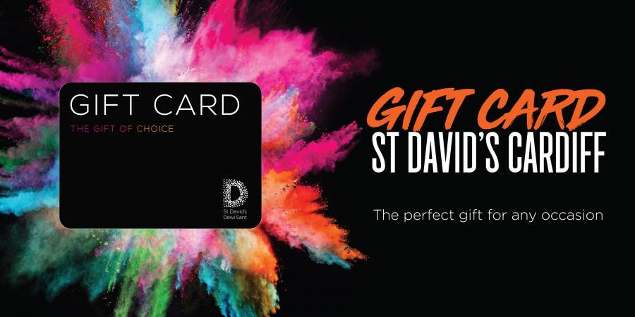 gift card St David's Cardiff
