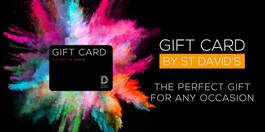 St David's gift card