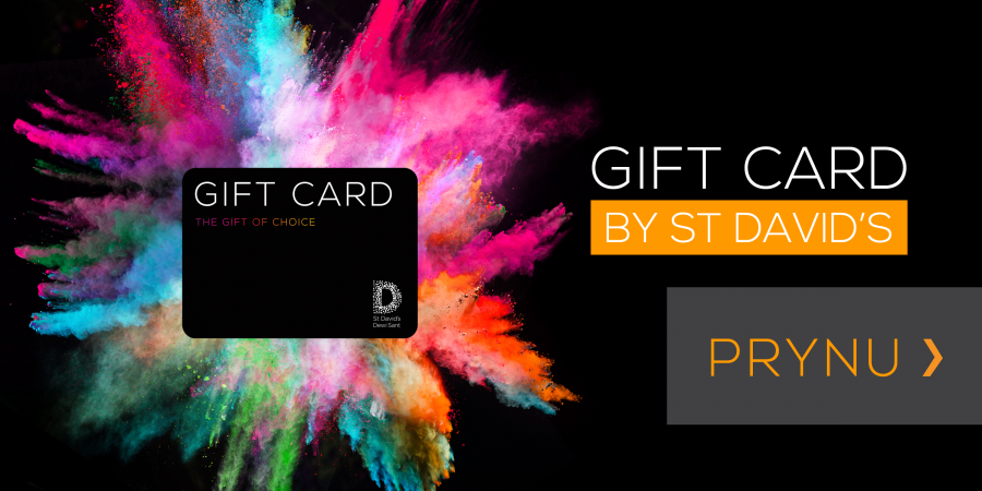 Buy a St David's gift card