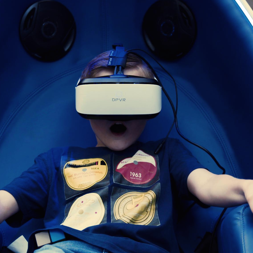 ImmotionVR Cardiff virtual reality experience