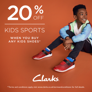 young male clarks shoes promotion