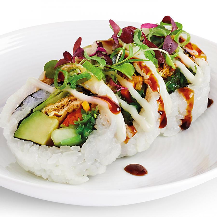 YO! sushi's Yasai Roll