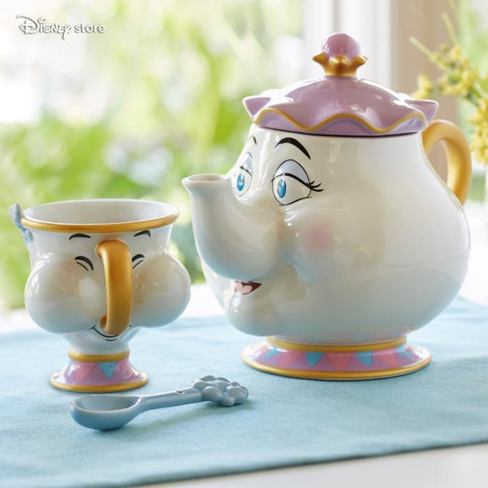 Mrs Potts teatime set