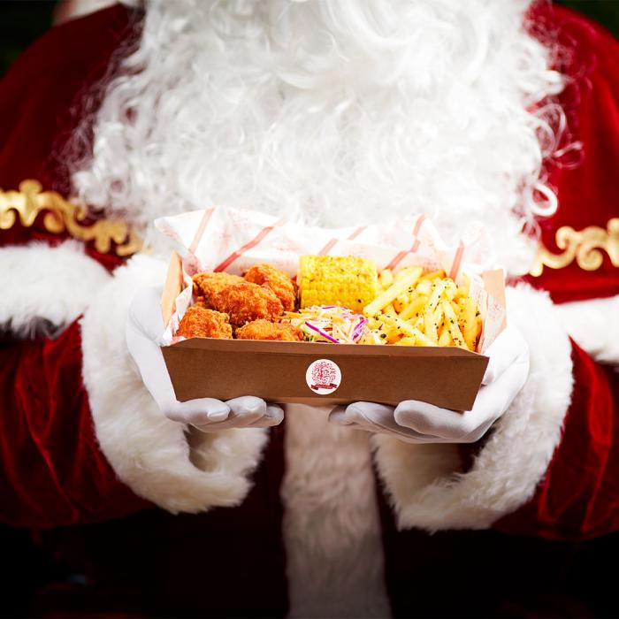 Santa at Yo Sushi