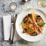 Carluccio's seafood linguine