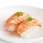 YO! Sushi's Aburi Salmon Nigiri