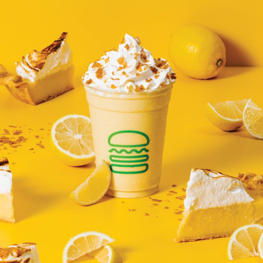 Lemon Meringue Pie shake launches at Shake Shack