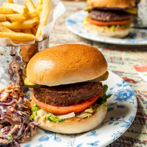 Vegan burger Cardiff