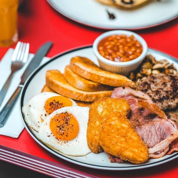 Breakfast at Ed's Easy Diner