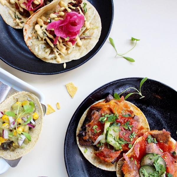 Tacos at Wahaca