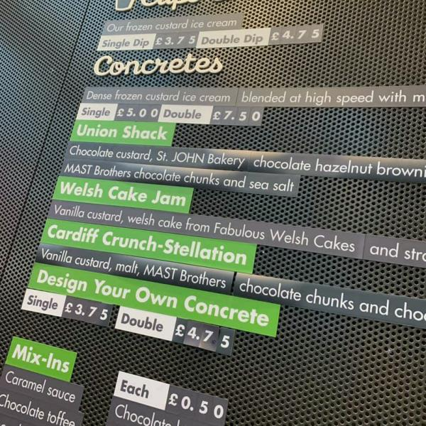 Concretes at Shake Shack