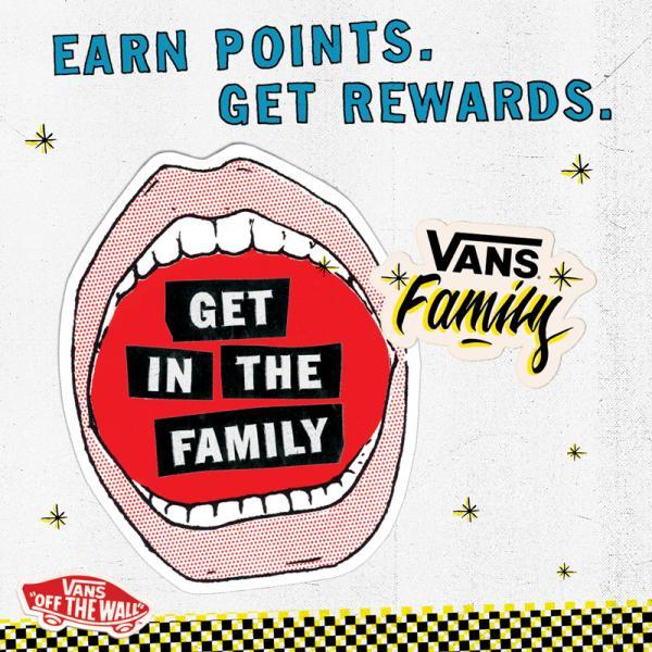 Vans Family loyalty program