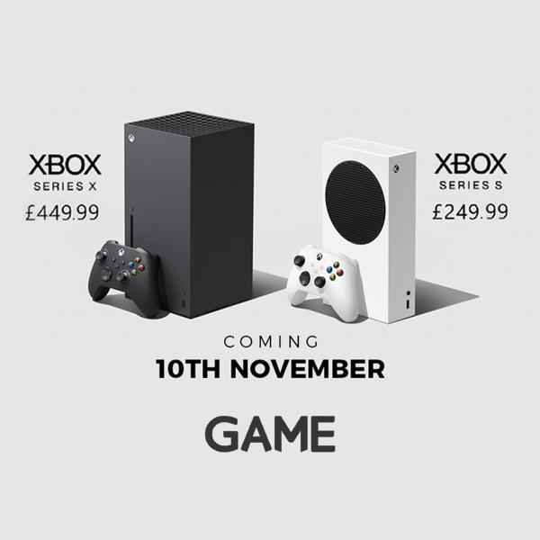 New Xbox consoles at GAME