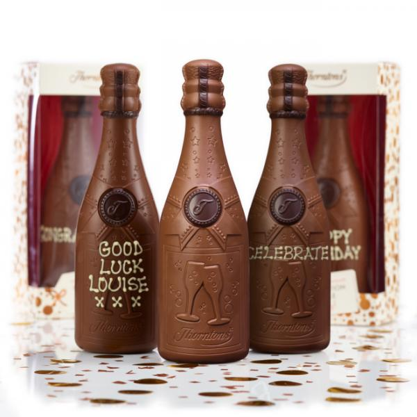 Save 1/3 on Thornton's personalised chocolate bubbly this weekend!
